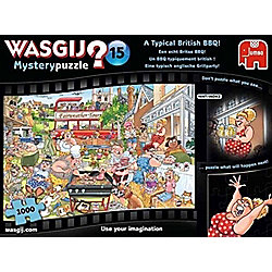 Wasgij Mystery 15 - A Typical British BBQ - 1000pc Puzzle