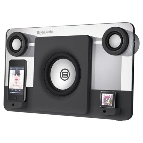 Bayan 5 Black Speaker Dock compatable with iPod, iPhone and iPad