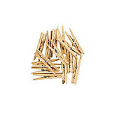 Deluxe Wooden Clothes Peg - 90mm - Pack of 36