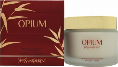 Yves Saint Laurent Opium Body Cream 200ml For Women