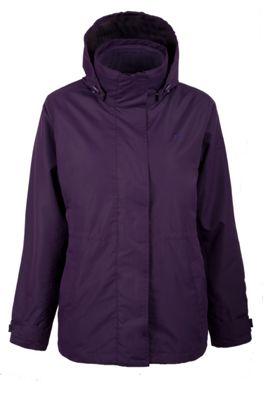 Fell 3 in 1 Womens Showerproof Detatchable Inner Fleece Jacket Coat