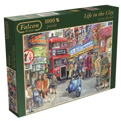 Life in the City - 1000pc Puzzle