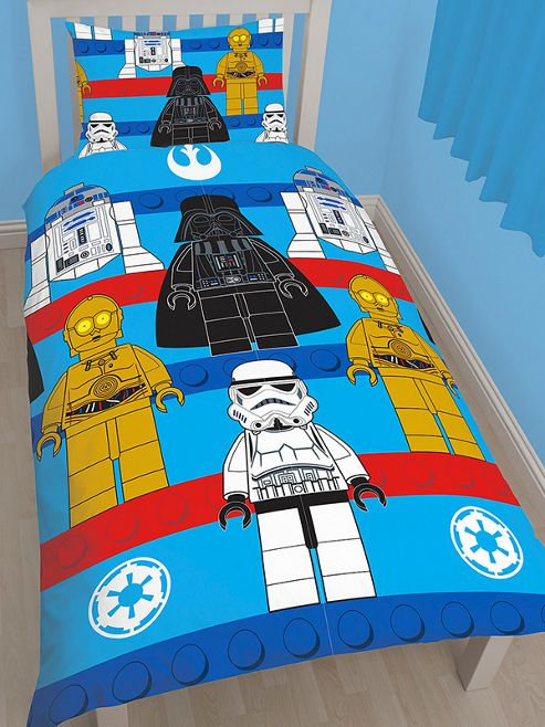 Lego Star Wars Sides Single Duvet Cover and Pillowcase Set