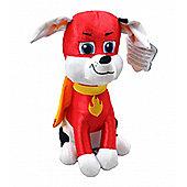 Paw Patrol Superheroes 'Marshall' 27cm Sitting Plush Soft Toy