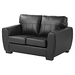 Ernest Compact 2 Seater Sofa, Black