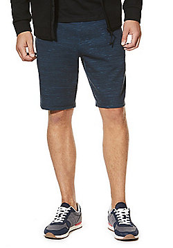 F&F Space Dye Jersey Shorts - Teal