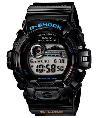 Casio G-Shock Mens Resin Chronograph Watch GWX-8900-1ER