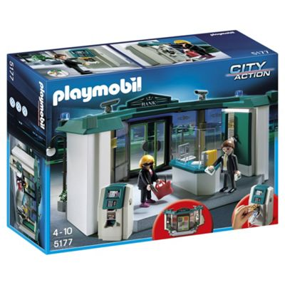 Playmobil 5177 Bank with Safe