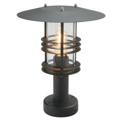 Black Pedestal - 1 x 60W E27