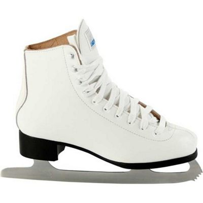 Lake Placid Deluxe Leather Ladies Figure Ice Skates