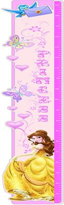 Disney Princess Belle Height Chart