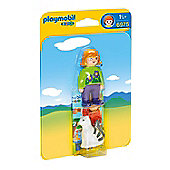 Playmobil 1.2.3 Woman with Cat 6975