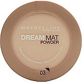 Maybelline Dream Matte Powder Foundation 9g - Golden Beige