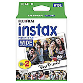 Instax 210 Wide Format Film (20 Shots)