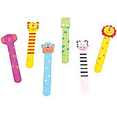 Bigjigs Toys Wooden Bookmarks (Pack of 6)