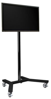 B-Tech 1.5m Trolley Stand for up to 65 inch TVs
