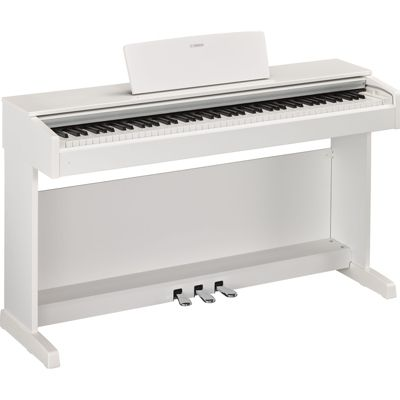 Yamaha YDP143 Digital Piano in White - with 6 Months Free Online Lessons