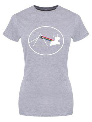 Creating Unicorns Grey Women's T-shirt