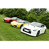 Five Supercar Thrill with Free High Speed Passenger Ride - Week Round