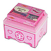 Melissa & Doug Decorate Your Own Jewellery Box