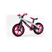 BMX Style Balance Bike - Pink Kids Bike - Chillafish BMXie