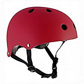 SFR Essentials Helmet - Matt Red - L / XL (57cm-60cm)