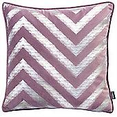 Rocco Strata Damson Cushion Cover - 43x43cm