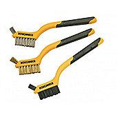 Mini Wire Brush Set of 3