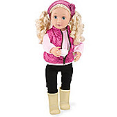 Our Generation 18-inch Doll Audrey Ann With Book