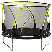 Whirlwind 8ft Trampoline and Enclosure - Kids Trampoline - Black - Plum