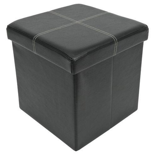 Ottoman Single Seat Black