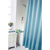 Home Creations Waterline Dyed Shower Curtain - Teal