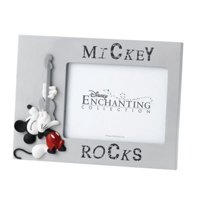 Enesco Enchanting Disney Mickey Rocks Mickey Mouse Photo Frame