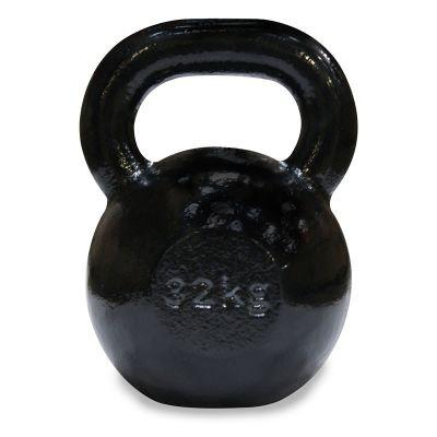 Body Power 32Kg Cast Iron Kettle Bell (x1)