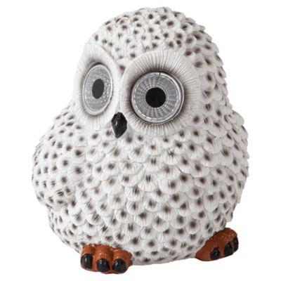 Tesco Snowy Owl solar light
