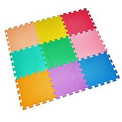 9 Piece Childrens Play Mat
