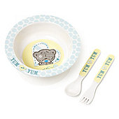 Me to You Tiny Tatty teddy bowl spoon and fork set