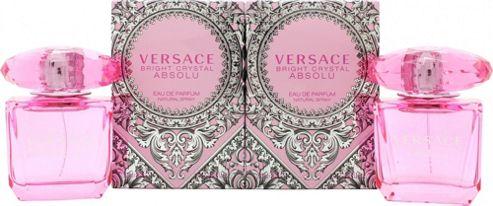 Versace Bright Crystal Absolu Gift Set 2 x 30ml EDP For Women