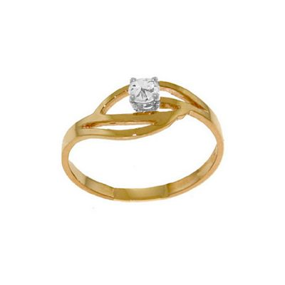 QP Jewellers 0.15ct I-3 Diamond Ring in 14K Rose Gold - Size C 1/2