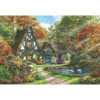 The Autumn Cottage - 2000pc Puzzle