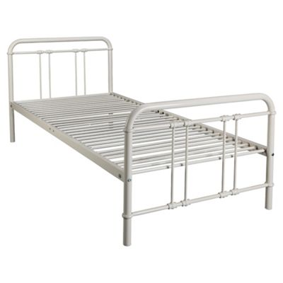 Ruben Single Bedframe, Ivory