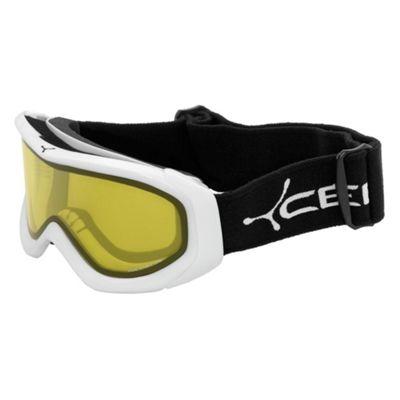 Cebe Eco Mixed Ski Goggles White/Yellow