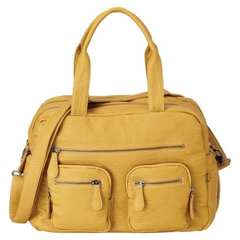 OiOi Changing Bag Yellow Carry All