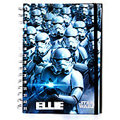 Star Wars Personalised Holographic Stormtrooper Notebook