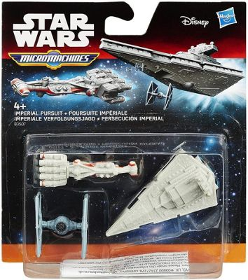 Star Wars A New Hope Micro Machines 3-Pack Imperial Pursuit - Dolls and Playsets