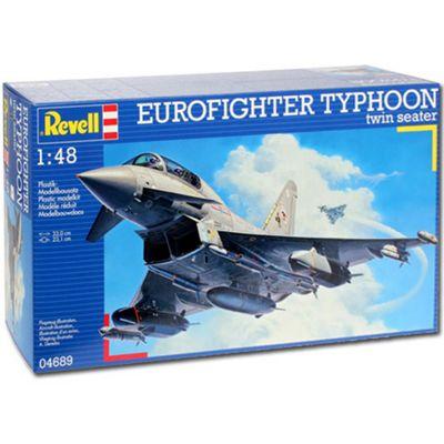 Revell Eurofighter Typhoon Twin Seater 1:48 Aircraft Model Kit - 04689