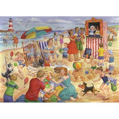 Trip To The Seaside - Extra Large Puzzle