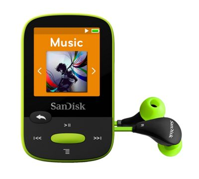 SanDisk Clip Sport Lime 8 GB MP3 Player