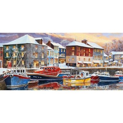 Padstow in Winter - 636pc Puzzle