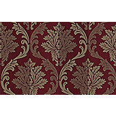 Graham & Brown SFC Splendour Wallpaper - Red / Cream
